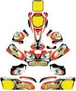 Decal Kit Body Complete CRG Adult 2017 #AFS.03433