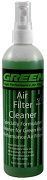 Cleaner Fabric Air Filter Green 8 oz.